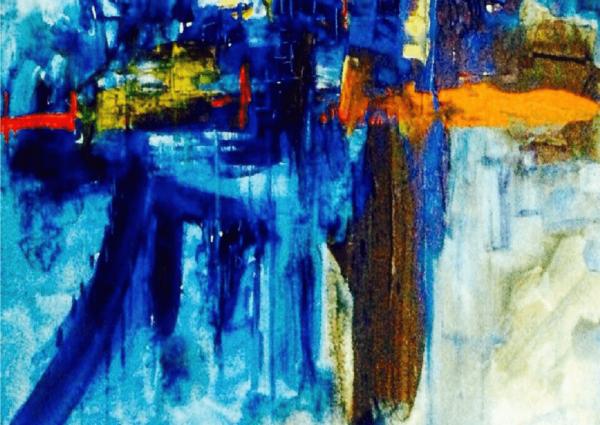 Abstract Painting Kuala Lumpur | A Zaki Hadri | Famous Malaysian Artist