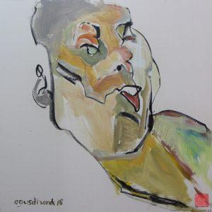 Artists in Pasar Seni | Agus Dhanik | Top Malaysian Artist Artroom 22
