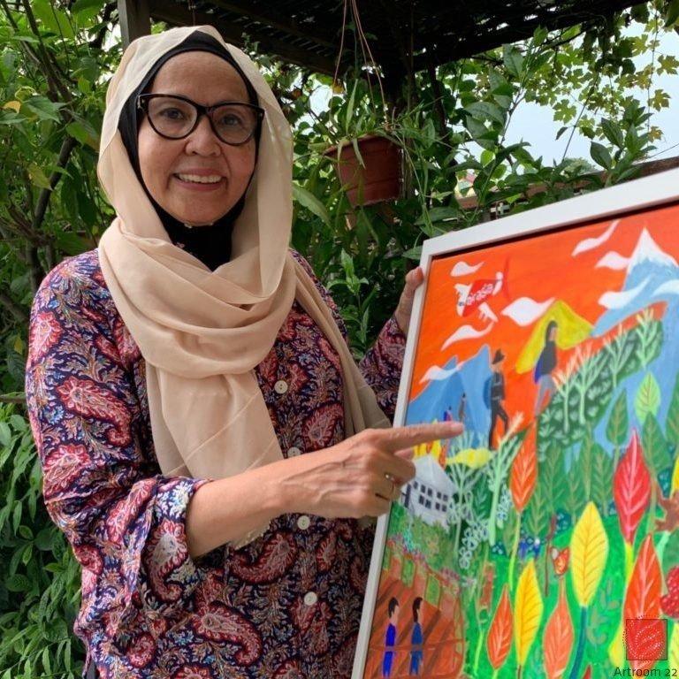 Art Shop Online   Lin Daud   Original Artwork Malaysia Artroom 22