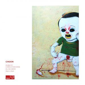 Original Artwork Malaysia | Choon | Art Gallery in Malaysia Artroom 22 | dark art sold artwork